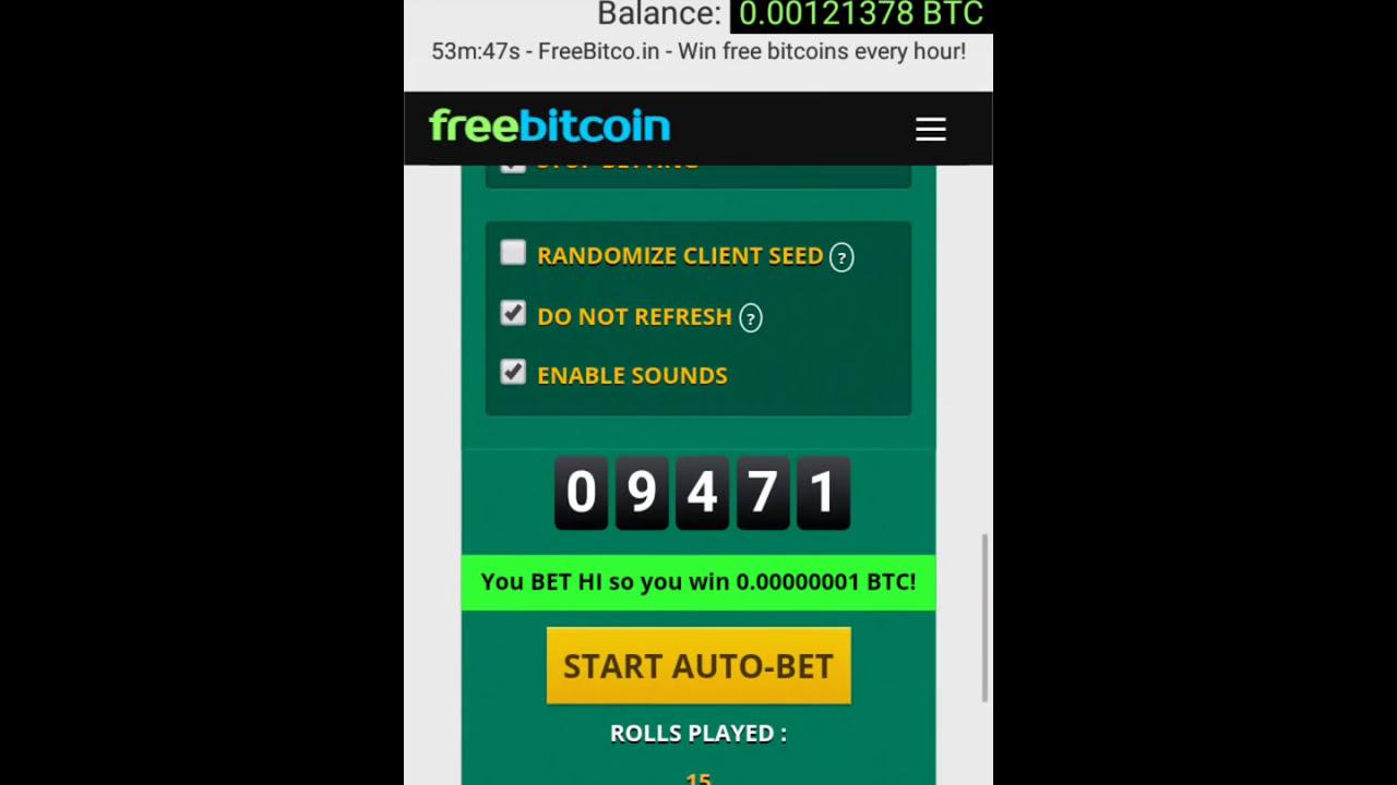 Free Bitcoin Earn -too easy & no loss (100% work)
