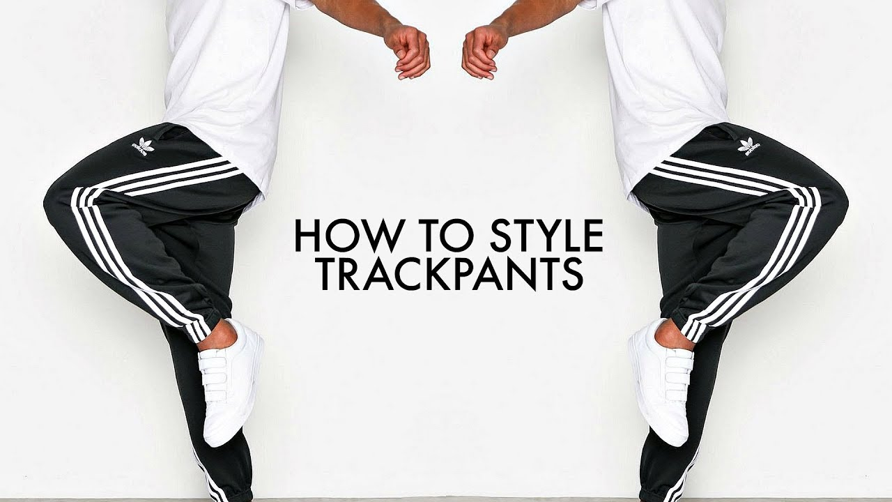 HOW TO STYLE TRACKPANTS | 4 Outfit Ideas | Men's Fashion | Daniel Simmons
