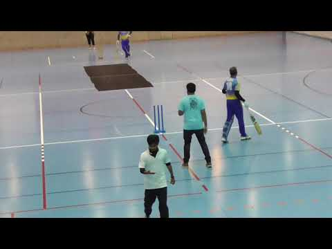7th Dresden Indoor Tournament: Plate Finals Dresden Strikers vs Berlin Lions Final overs