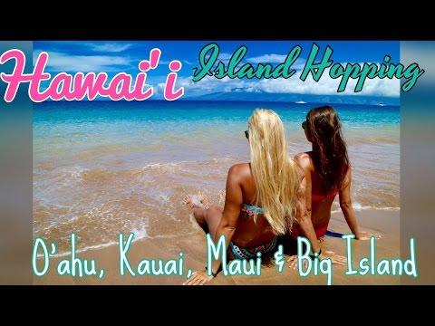 Island Hopping Hawaii: Oahu, Maui, Kauai & Big Island (Summer Adventure 2016)