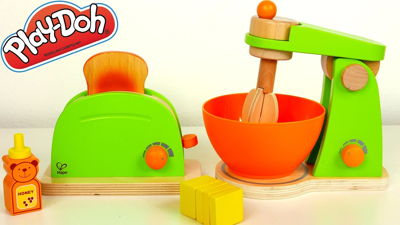 Uncategorized Toy Kitchen Appliances toaster and mixer kitchen toy appliances playset for kids youtube kids
