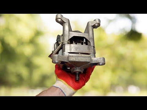 Самоделки из двигателя от стиральной машины своими руками