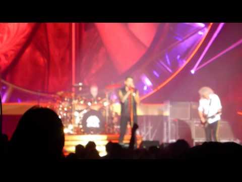Queen+Adam Lambert - Riffs & Radio Ga Ga - The Forum, Los Angeles 2014/07/03