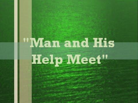 "IOG - ""Man & His Help Meet"" 2013"
