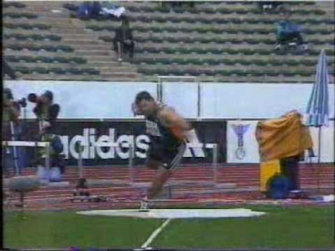 1998 World Cup Shot Put - 20,29m (pb)