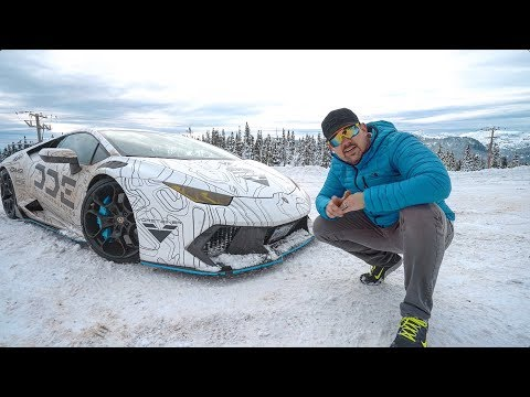 5 Tips To SURVIVE WINTER IN A SUPERCAR *Lamborghini Huracan*