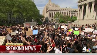 Several Arrested During George Floyd Protests in NYC