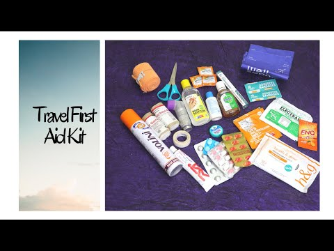 First Aid Kit - Travel | Travel First Aid Kit | What I carry in my First Aid Kit during travel