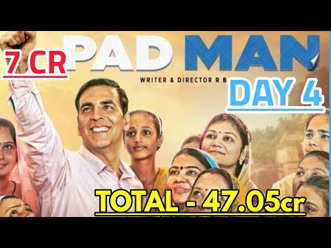 PADMAN BOX OFFICE PREDICTION DAY 4 | INDIA | AKSHAY KUMAR
