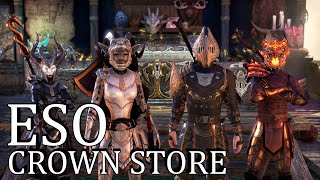 ESO Crown Store Overview (ESO Gameplay/Commentary/PC)