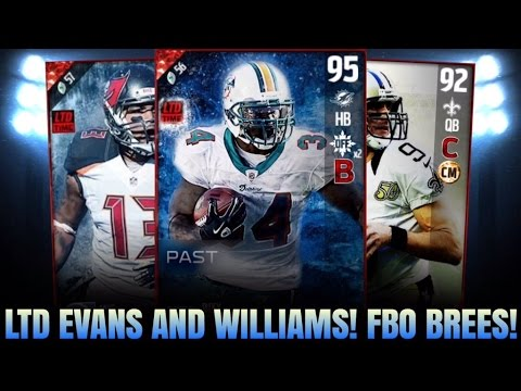 LTD EVANS AND RICKY! FBO BREES! GIFTS REVEALED! I GOT 94 DALLAS CLARK! | MADDEN 17 ULTIMATE TEAM
