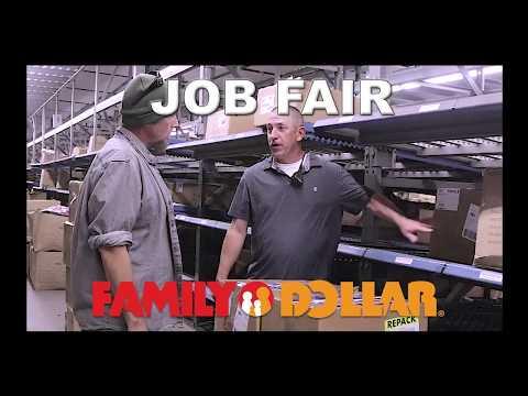 Family Dollar Distribution Center Job Fair On Saturday, January 12, 2019