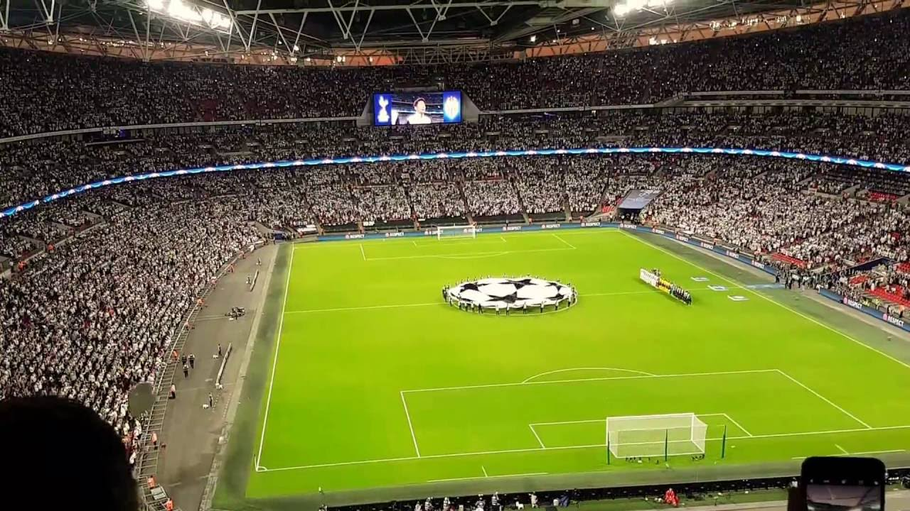 Billedresultat for tottenham champions league wembley