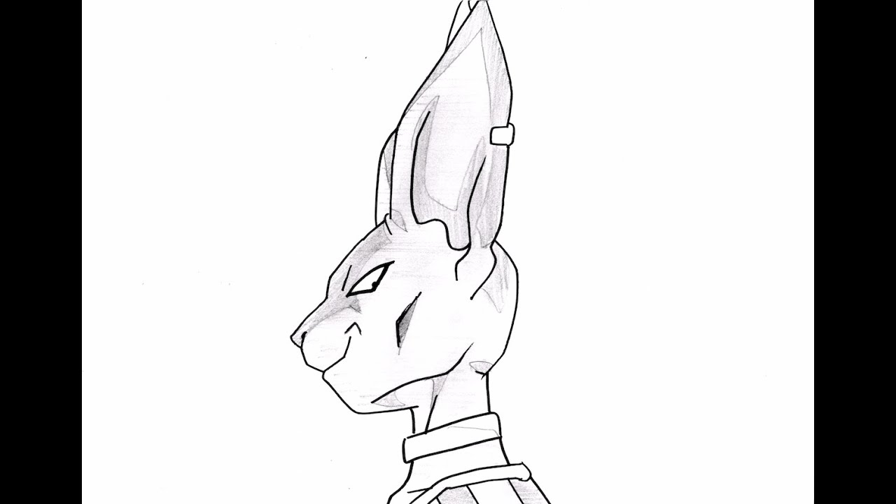 No 1067 How To Draw Beerus Bills ビルス Youtube