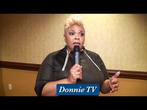 Tamela Mann talks about being a mom and balancing life