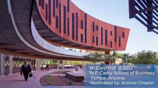 2016 Excellence in Concrete Construction Awards - High Rise Second Place: McCord Hall