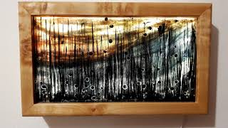 Lightbox für Glasmalobjekte