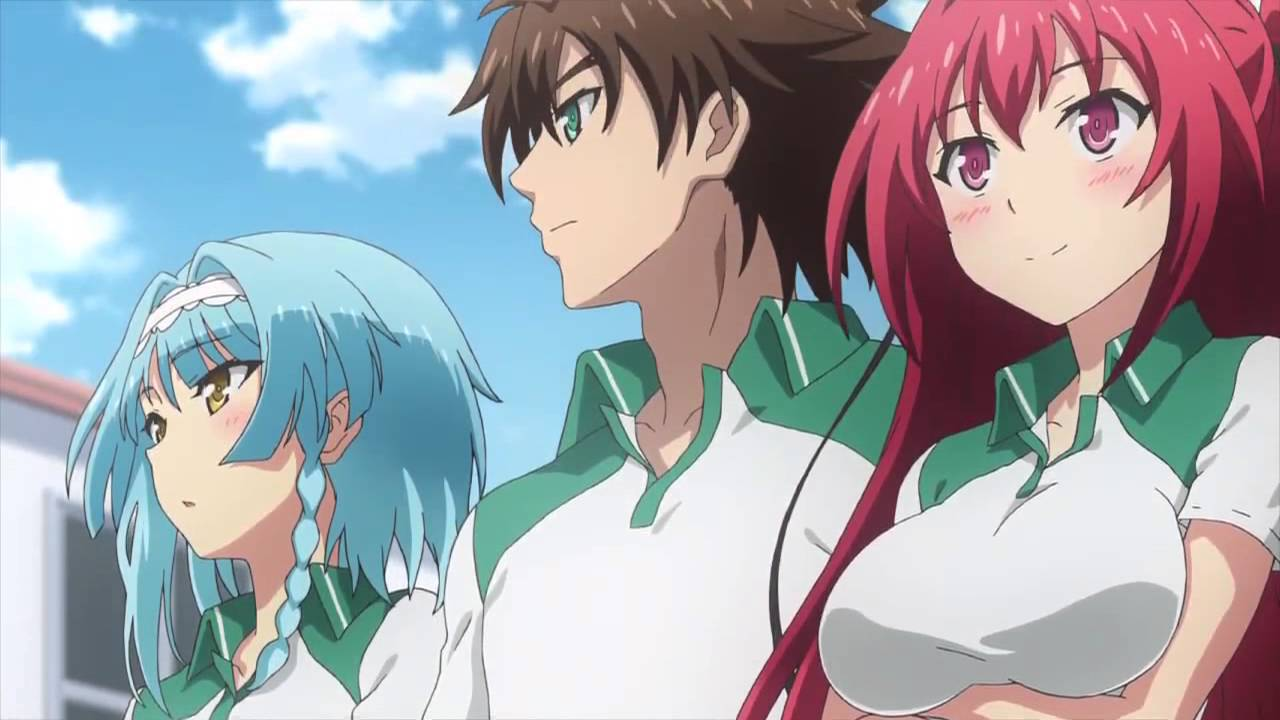 Shinmai maou no testament burst uncensored episode 5