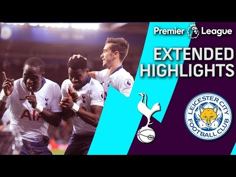 Leicester City v. Tottenham | PREMIER LEAGUE EXTENDED HIGHLIGHTS | 12/8/18 | NBC Sports