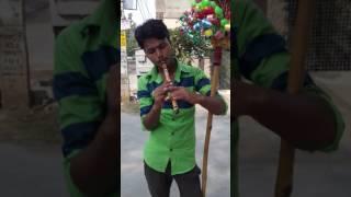 Poor flute seller talent
