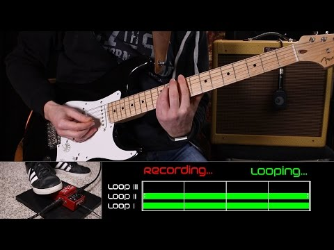 Loop Station Tutorial - HowToLoop #2: Overdub and Undo with Boss RC-3