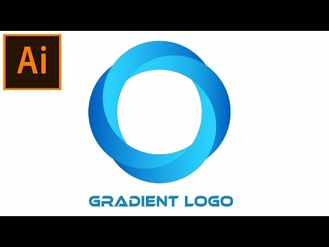 Create a Gradient Logo in Adobe Illustrator Tutorial | 05 thumbnail