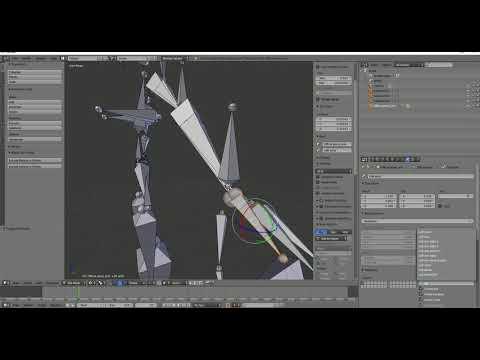 how to put mmd models in blender