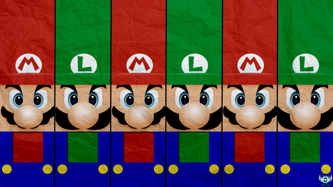 Speed art real mario luigi paper wallpaper youtube real mario luigi paper wallpaper youtube altavistaventures Gallery