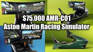 Aston Martin Amr C01 Is A 75000 Carbon Fiber Racing Simulator Youtube