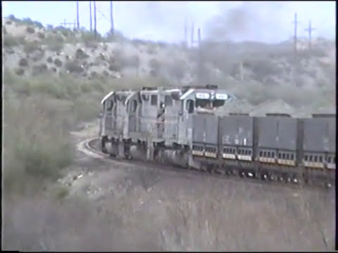 Arizona Short Line And Mining Railroads (an ALCO & EMD's), March, 1991