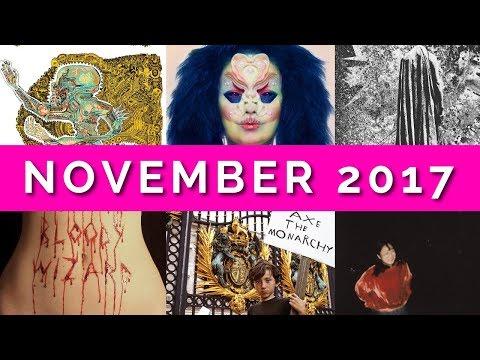 November 2017 / Album Review Roundup