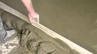 Я Мастер цементная стяжка пола(Видео урок по цементной стяжке пола, для тех кто решил делать ремонт в квартире своими руками. http://imaster.su/ustroys..., 2014-07-23T07:41:29.000Z)