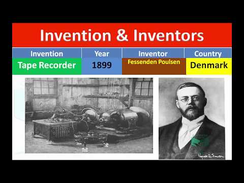 Invention and Their Inventors with Pictures  #Static GK
