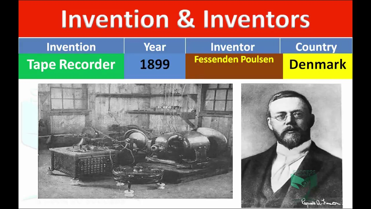 invention and their inventors with pictures static gk youtube