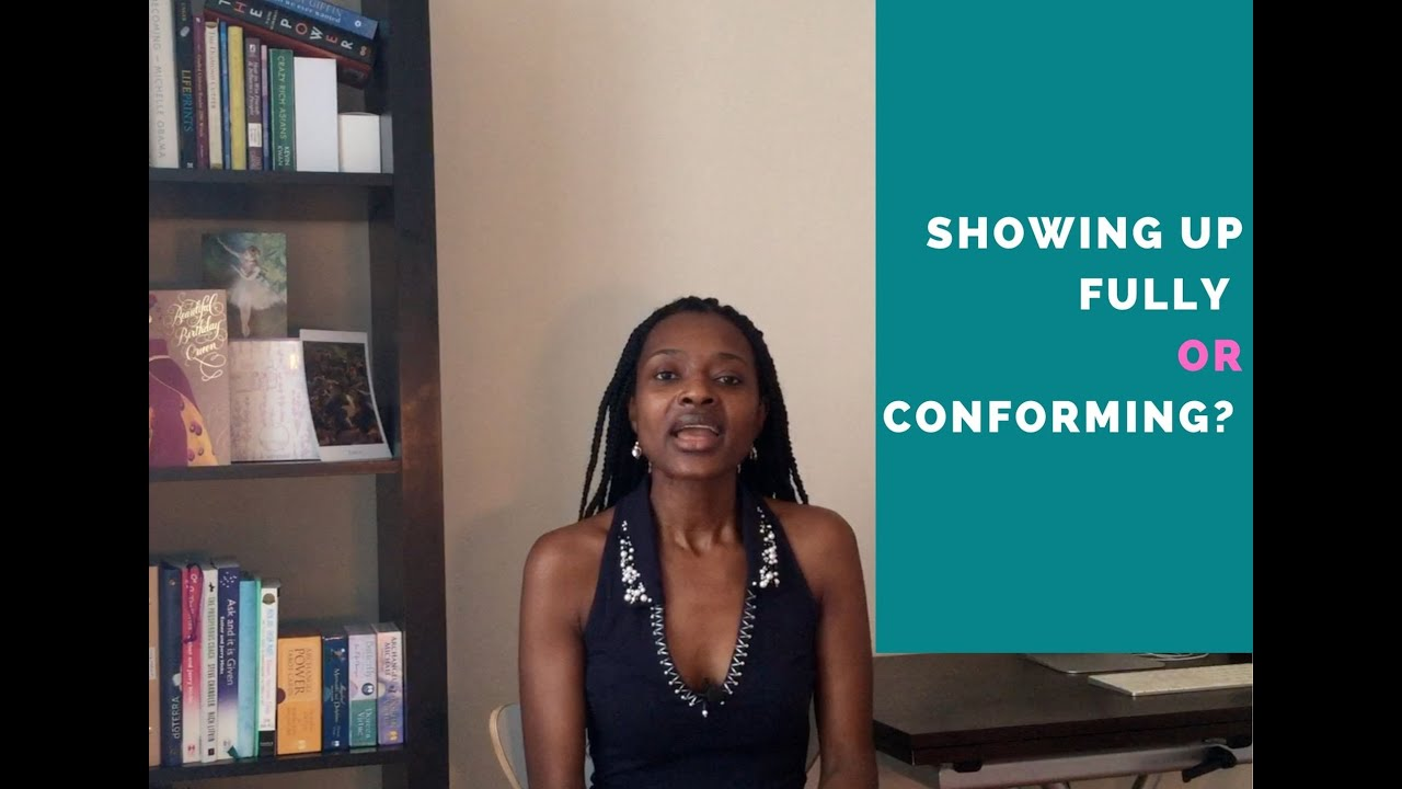 Are you being true or are you conforming?