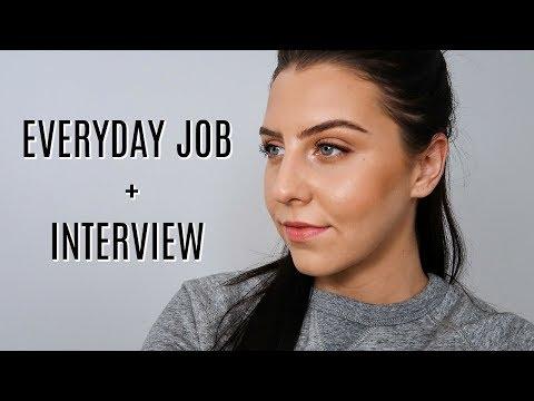 Easy Job & Interview Makeup Tutorial | amanda devon thumbnail