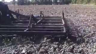 Bronowanie Brony 10 polowe hydraulicznie składane Almet Dzierzgoń Kuźmicz