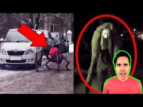 5 CREEPY & TERRIFYING Things Caught On Camera!