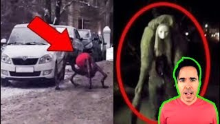 5 CREEPY & TERRIFYING Things Caught On Camera!