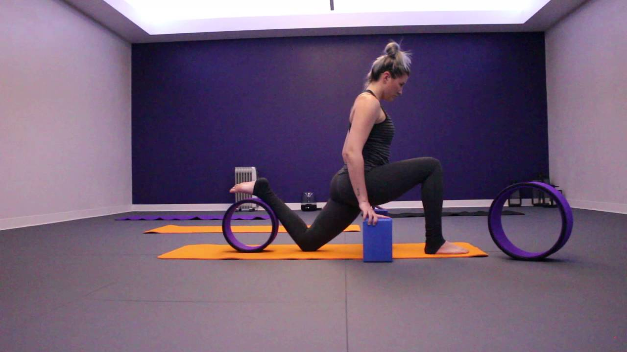 Yoga Wheel Sequence Beginner   Clever Yoga