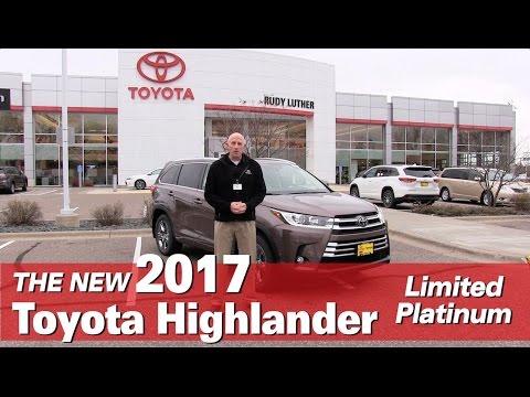 New 2017 Toyota Highlander Limited Platinum - Mpls, Golden Valley, Burnsville, Bloomington, MN