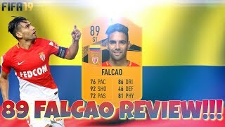 89 EUROPA LEAGUE MOMENTS FALCAO PLAYER REVIEW!!! GREAT VALUE SBC!!! FIFA 19 ULTIMATE TEAM