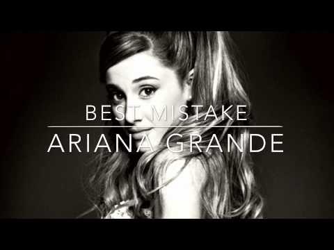 Best Mistake- Ariana Grande instrumental
