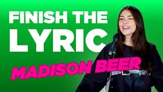 Madison Beer Covers Justin Bieber, Billie Eilish & More | Finish The Lyric | Capital