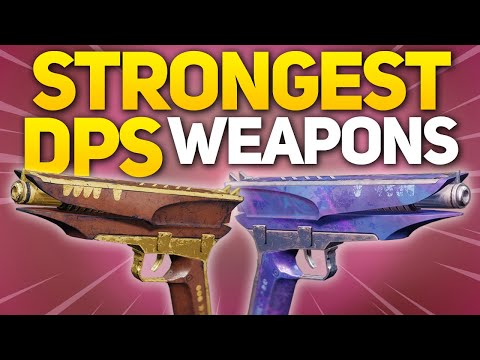 The Surprising STRONGEST Weapons for DPS in Destiny 2 (Best