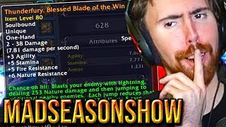 """Asmongold Reacts To """"Thunderfury, Blessed Blade of the Windseeker"""" - MadSeasonShow"""