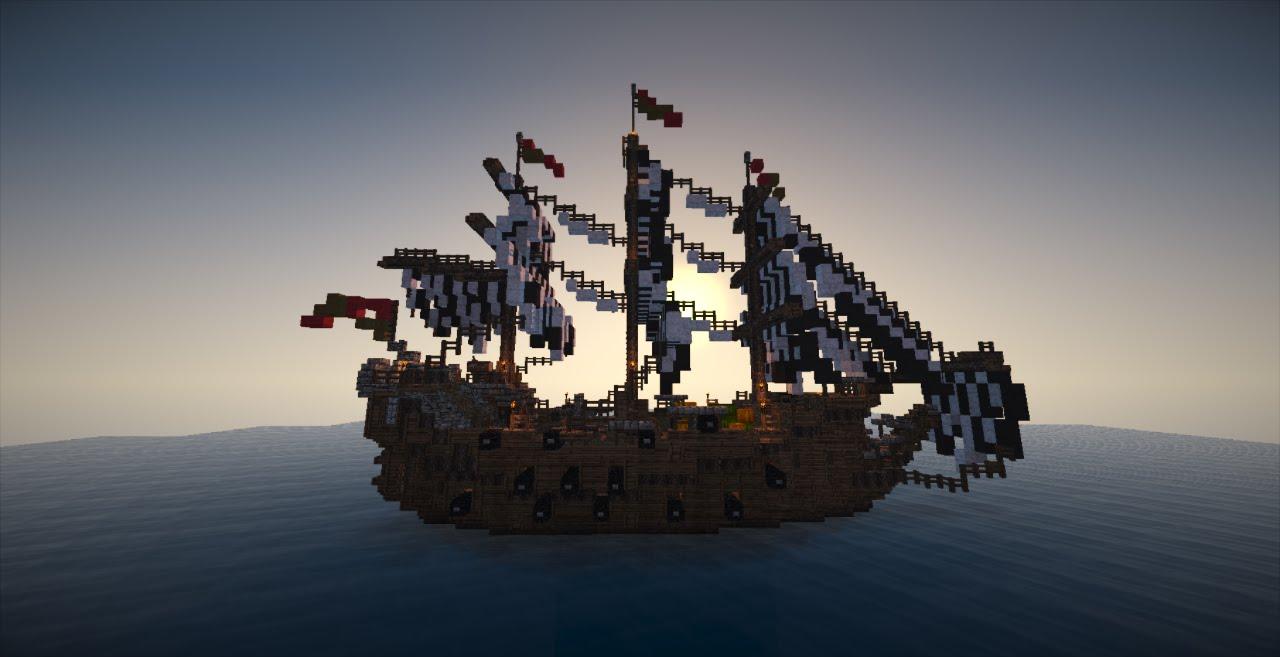 Minecraft Schiffe