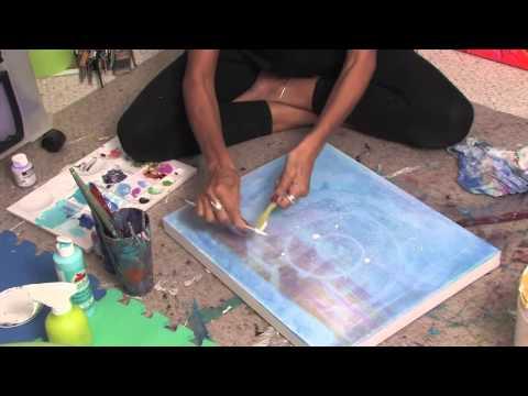 Splatter Paint Techniques