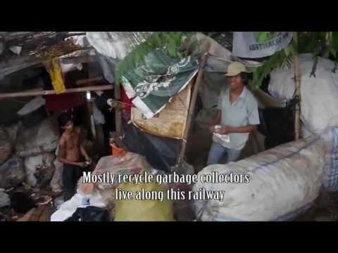 Slum area of Jakarta