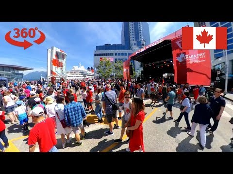 Canada Day Vancouver (2019) Celebration In Downtown Vancouver